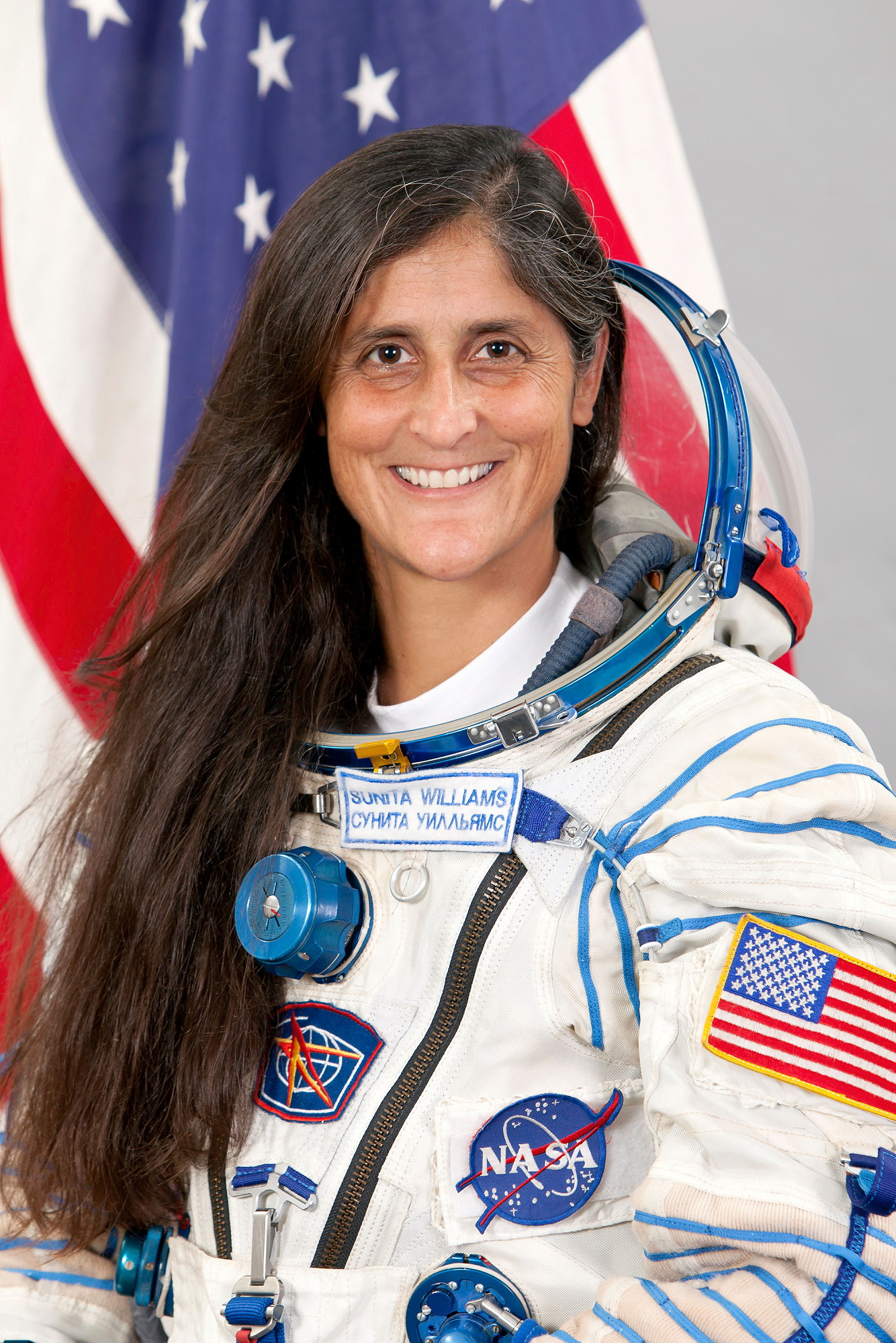 """contribution of sunita williams The only other person to have done it is nasa astronaut sunita williams, who ran a marathon in space on a treadmill in 2007 on completing the endeavour she said: """"hooyah i am done"""" williams."""