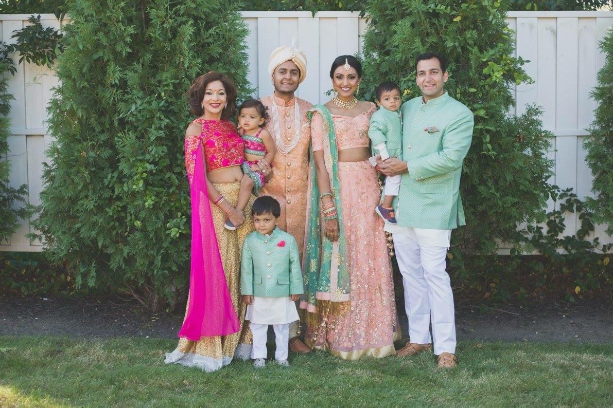 Bijal Vohra Family