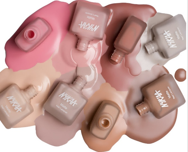 nykaa-nude-matte-nail-enamel-collection