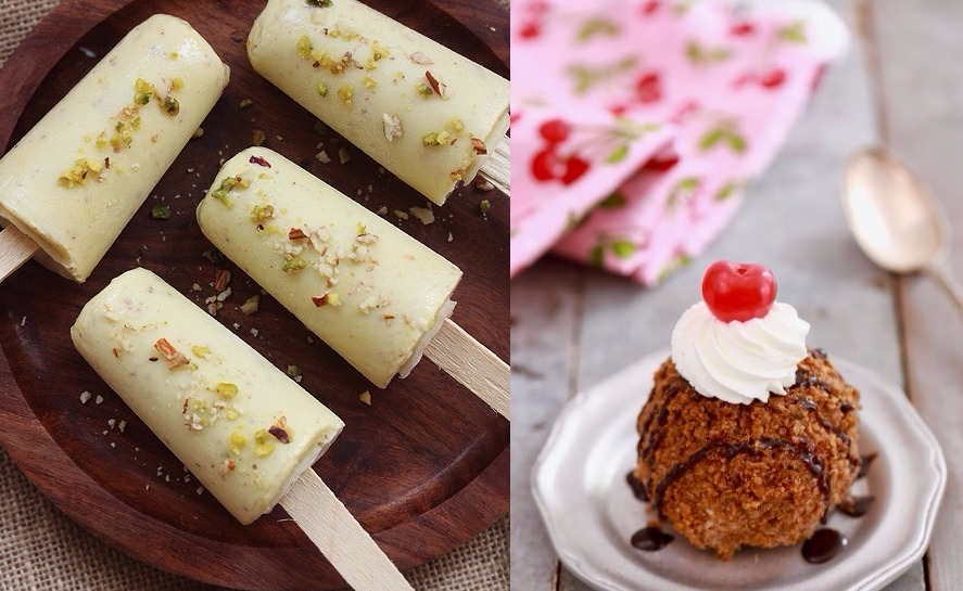 Kulfi Vs. Fried Ice Cream