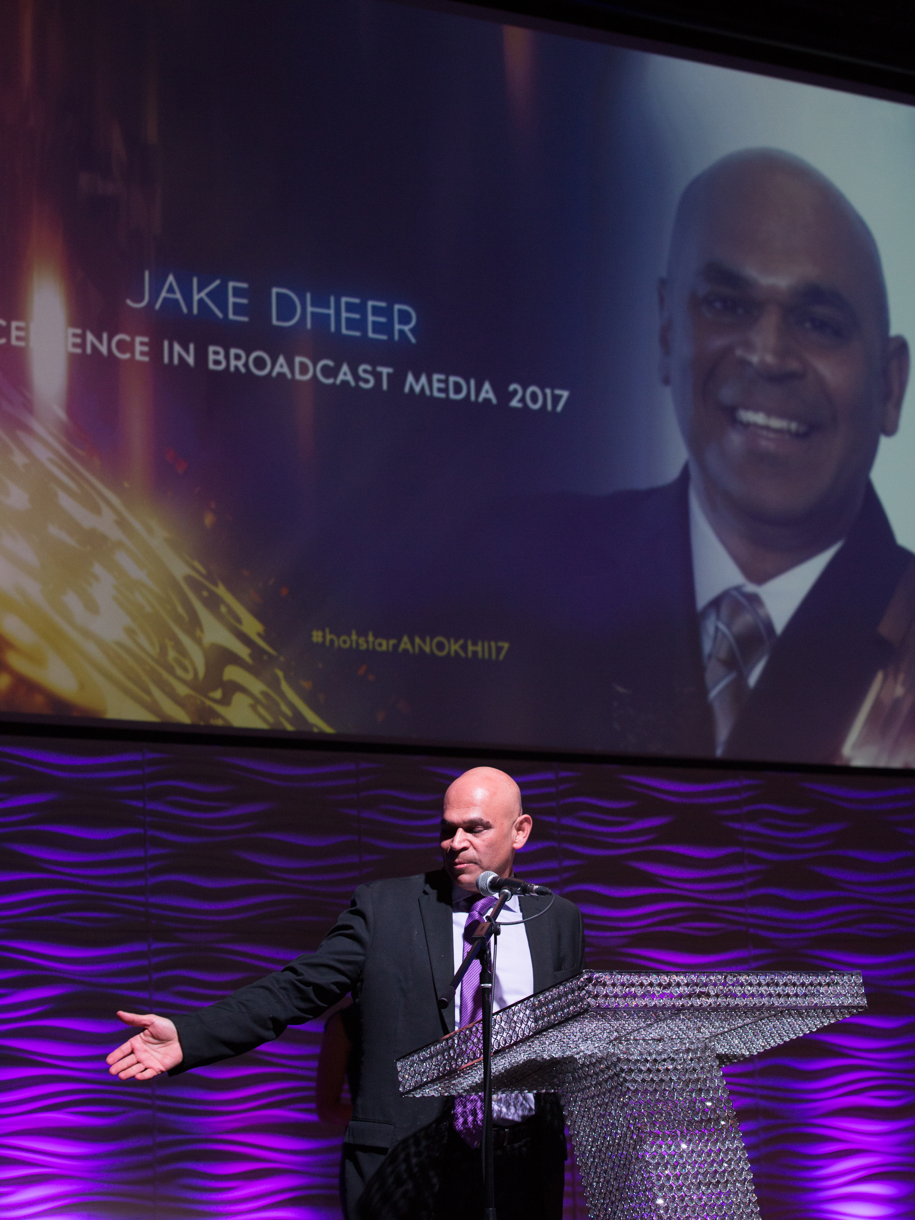 Jake Dheer Wins Excellence In Broadcast Media 2017 Award