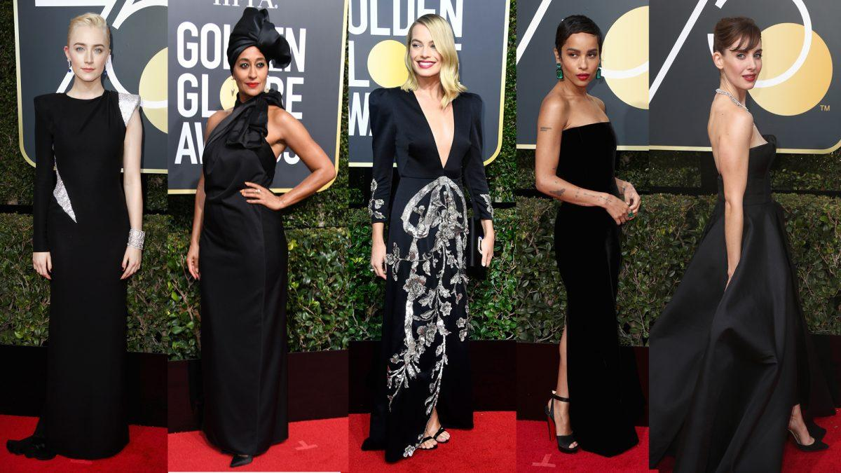 75th Golden Globes Award - Black Out