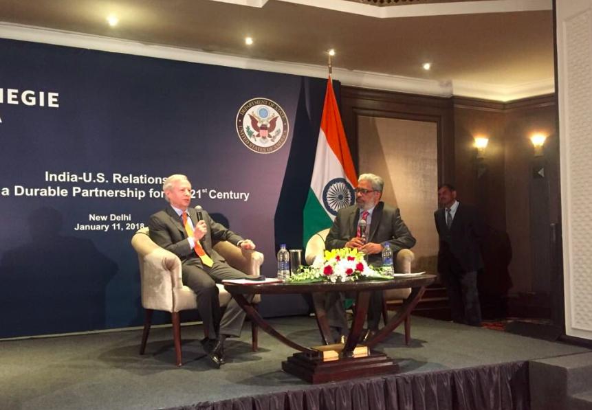 US Ambassador to India, Mr Kenneth I. Juster