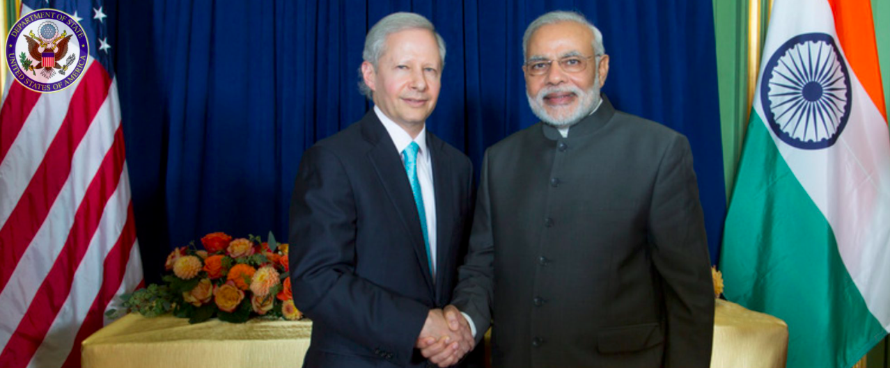 Kenneth Juster With Modi