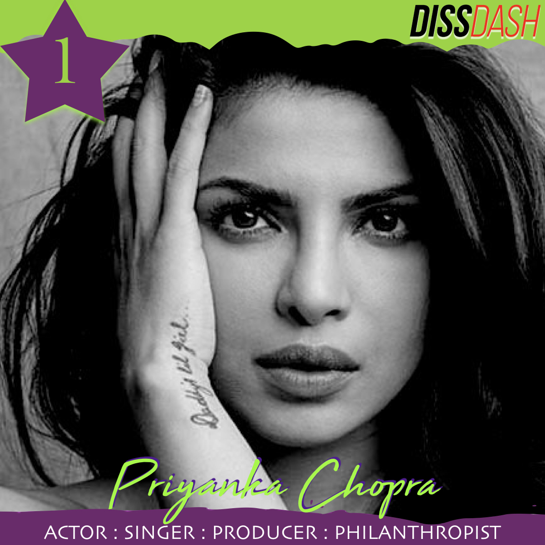 PRIYANKA CHOPRA South Asians Influential