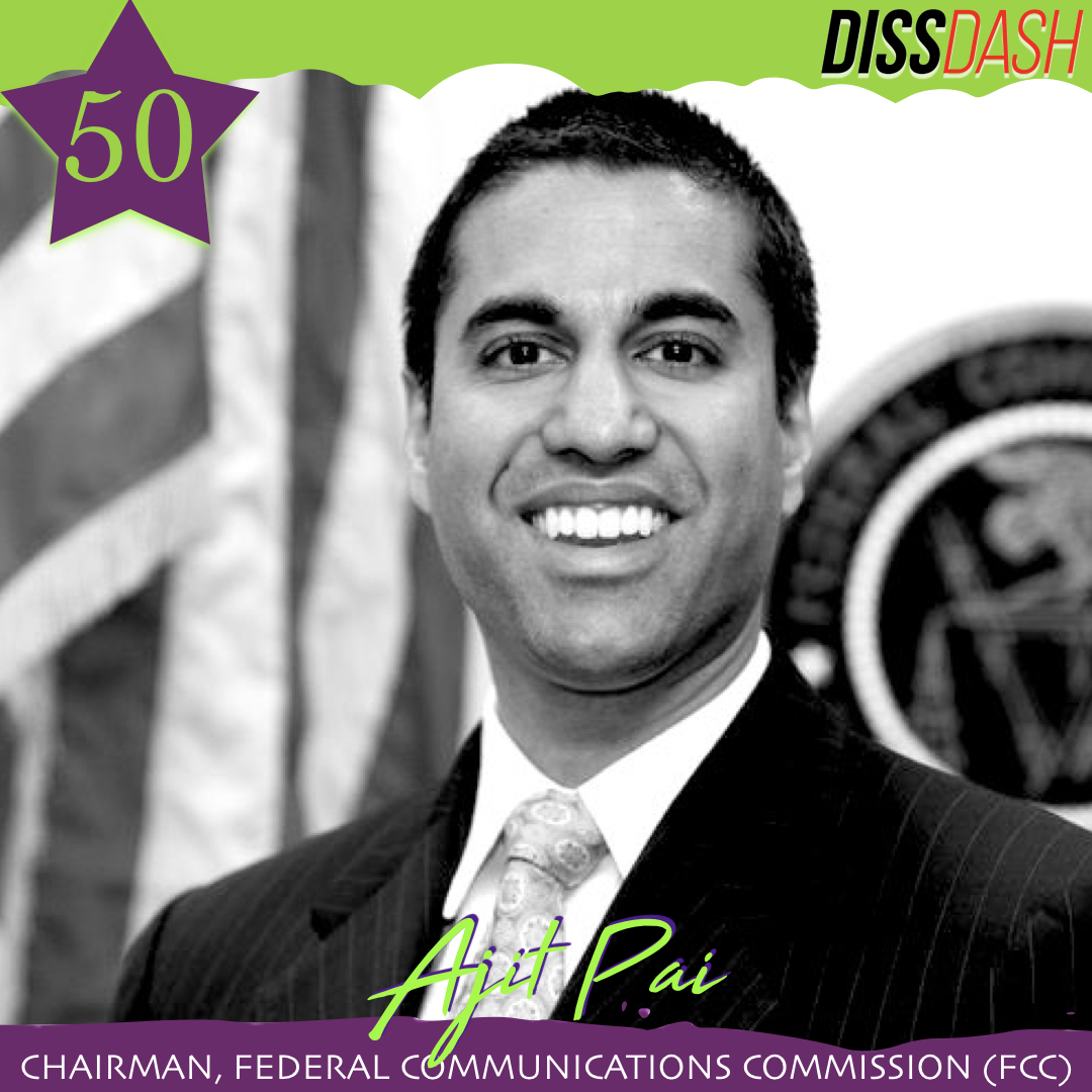 Ajit Pai Top 50 List