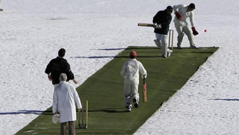 Swiss ice cricket