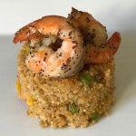Black Pepper Shrimp With Panang Quinoa