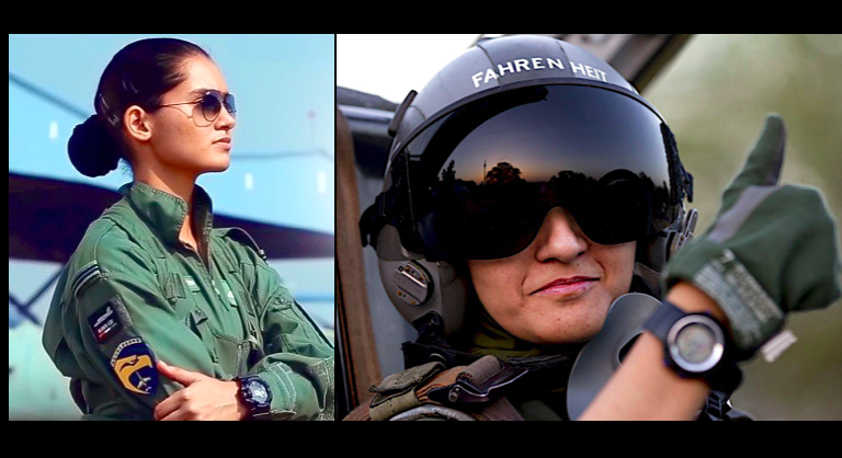 Avani Chaturvedi Flies High – Breaks Testosterone Barriers Of Indian Air Force