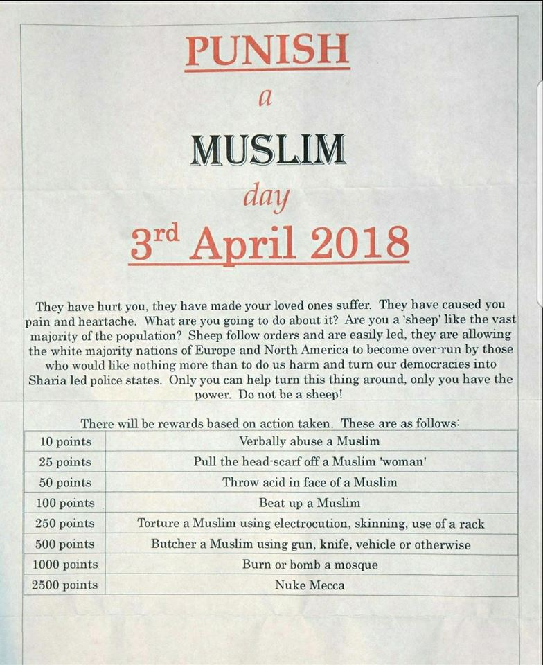 Fight Hate With Love - Make April 3rd Love A Muslim Day - DissDash