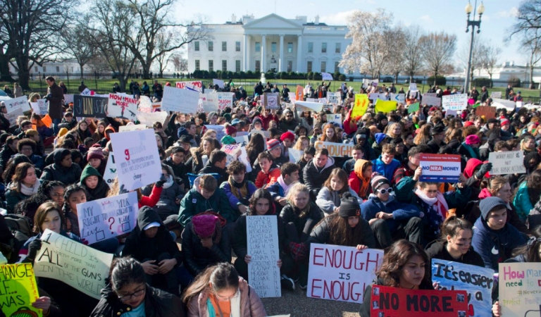 #NationalSchoolWalkoutDay – The Silence Of American Students  Was Deafening