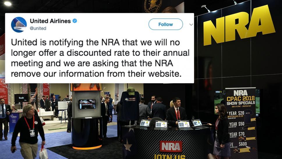 #BoycottNRA