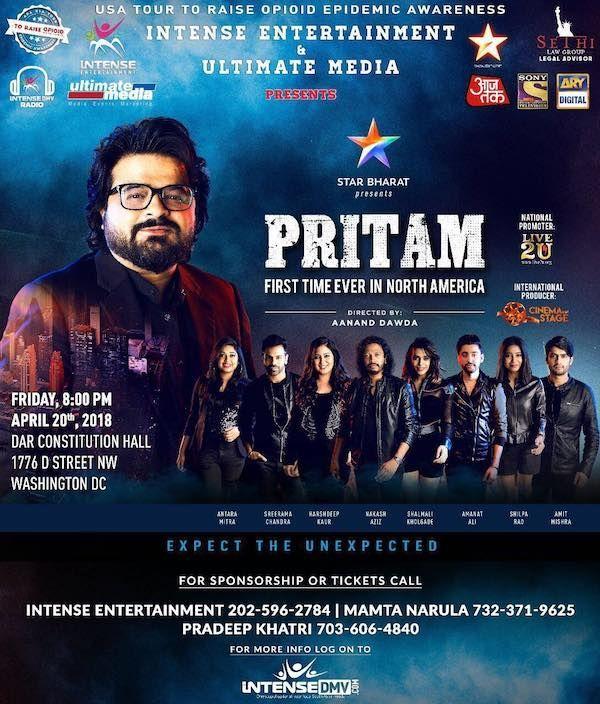 Pritam Concert DC