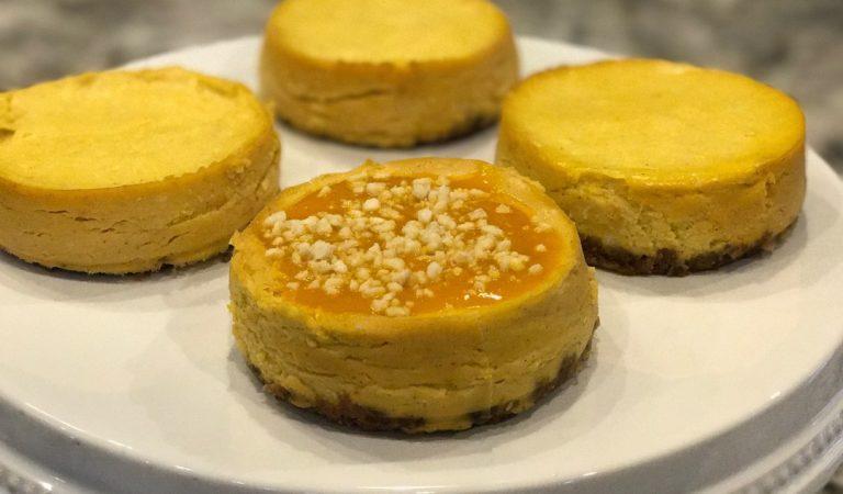 Let Mango Season Begin With Shiela's Mini Mango Kulfi Cheesecake