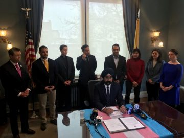 Hoboken Gender Neutral mayor ravi balla