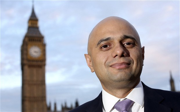 Pakistani Origin Sajid Javid Appointed As Britain's Home Secretary