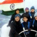 All Women Indian Navy Crew
