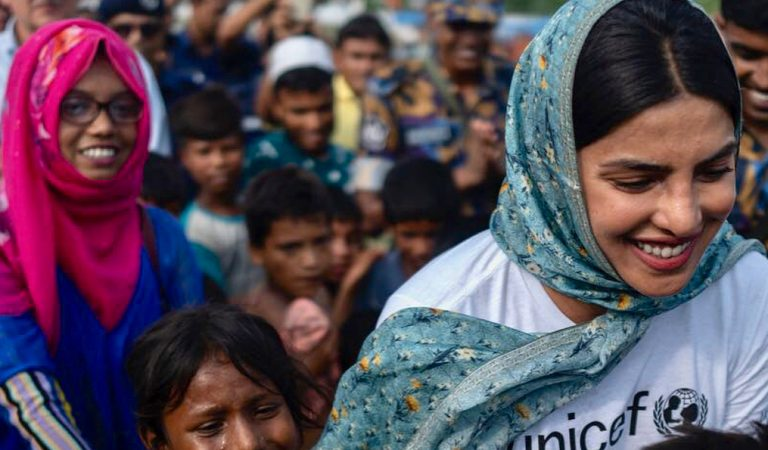 Priyanka Chopra Keeps Alive The Cause Of Rohingya Refugees
