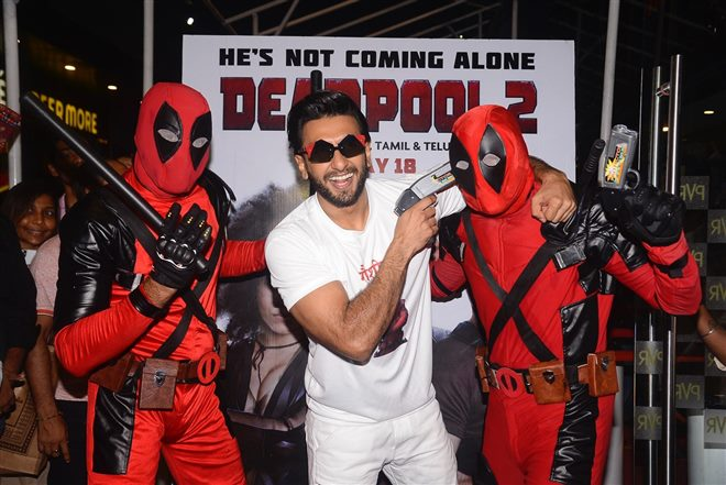 Ranveer Singh's Hindi Dubbing Of Deadpool 2 Has Us In Splits