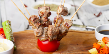 4th Of July - lamb kebabs