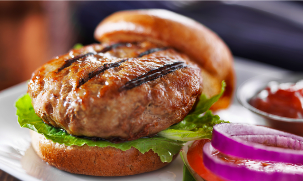 4th Of July - Turkey Mint Burger