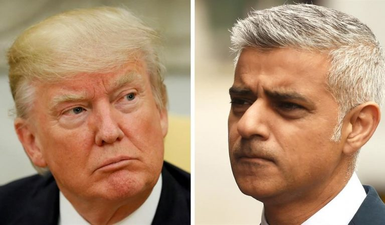 Trump Attacks London's Mayor Sadiq Khan Again!