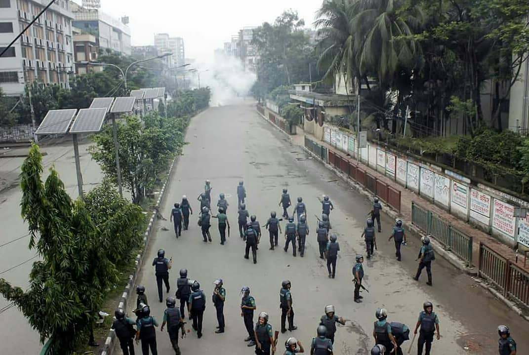 Bangladeshi Students Protest