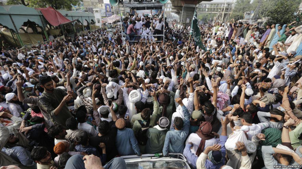 Protest in Pakistan Against Anti-Islamic Cartoon Contest