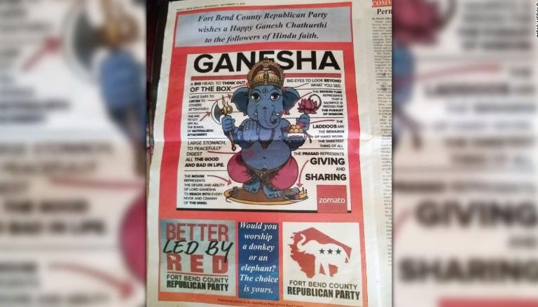 Republican Party's Ganesh Chaturthi 'Attempt' Gone Wrong