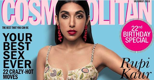 Rupi Kaur Features On The Cover Of Cosmopolitan India