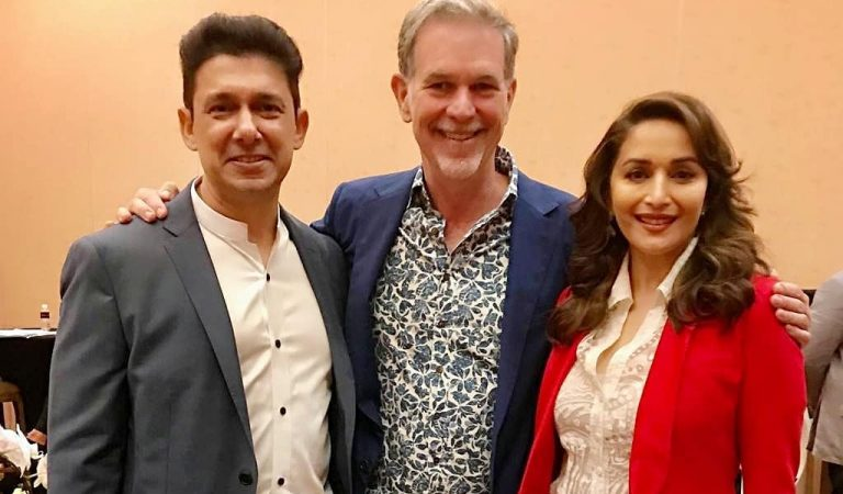 Madhuri Dixit-Nene Joins Hands With Netflix