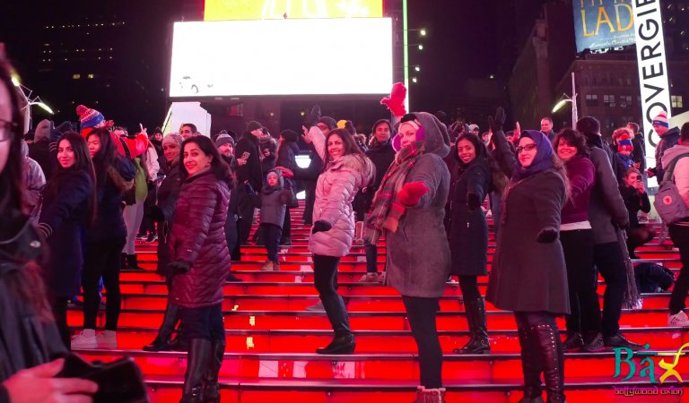 Bollywood Axion Takes 'Aankh Marey' To Times Square
