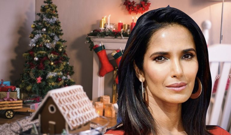 Padma Lakshmi Gives Architectural Hacks For The Perfect Gingerbread House