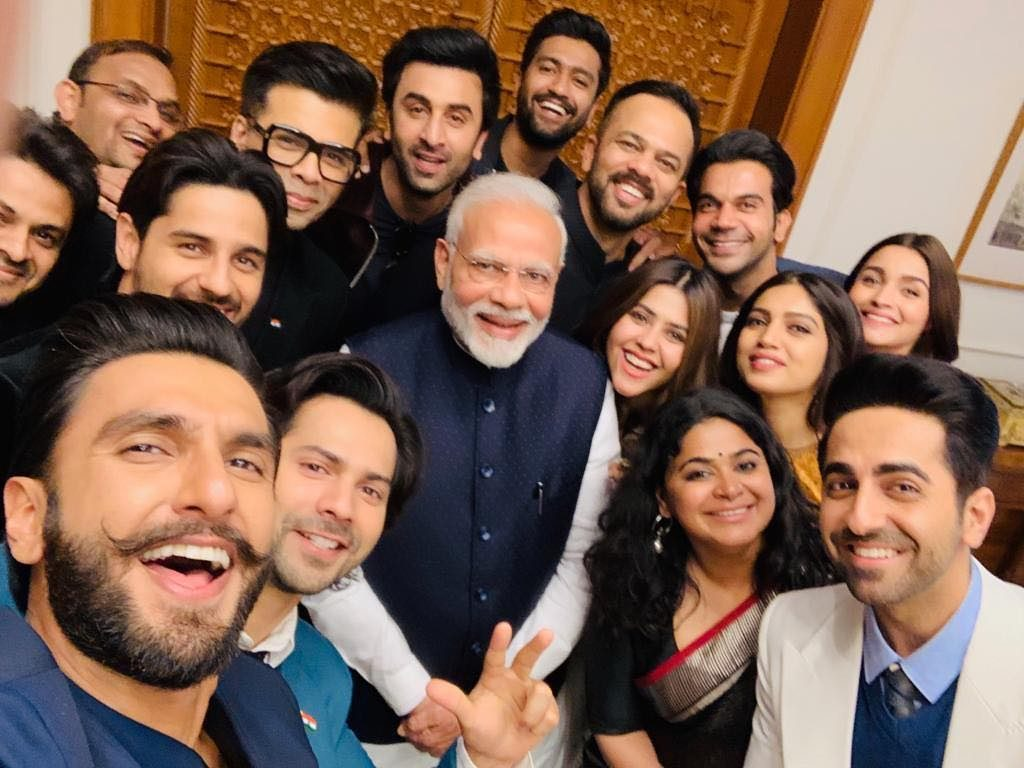 Bollywood Groupie With Modi