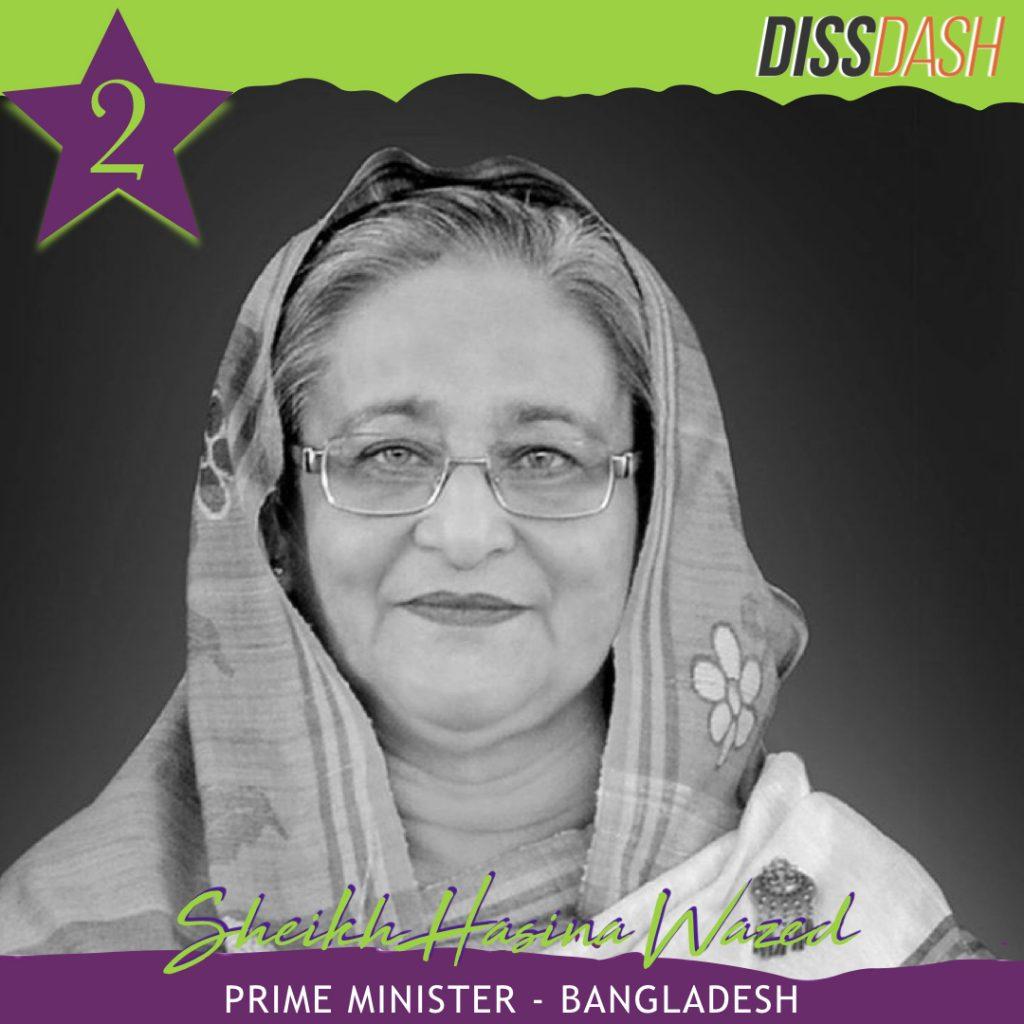 top 50 sheikh Hasina
