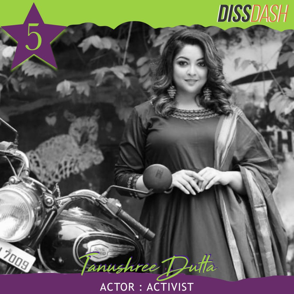 top 50 tanushree Dutta