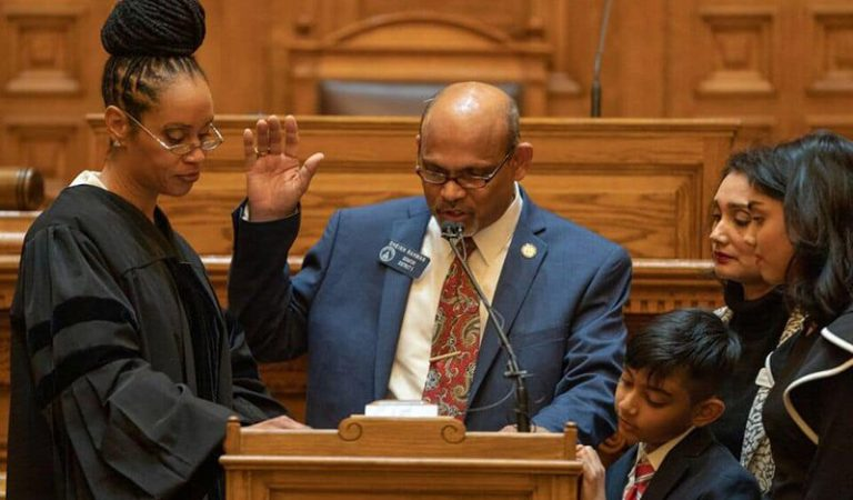 Bangladeshi-American Immigrant Becomes 1st Muslim Immigrant To Be Sworn In Georgia Senate