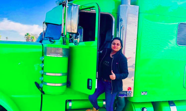 Sikh Female Trucker Breaking Gender Stereotypes In The US