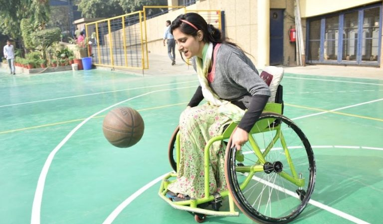 Inshah Bashir – Kashmir's First Female Wheelchair Basketball Player Comes To The US!