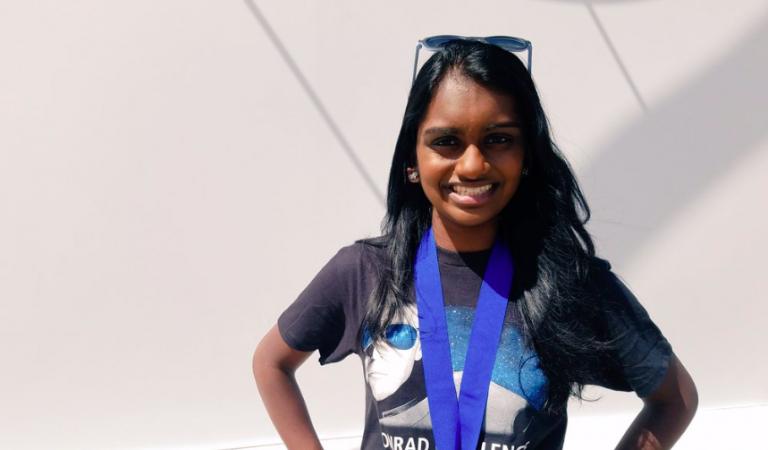 Kavya Kopparapu Wins 2019 National STEM Education Award