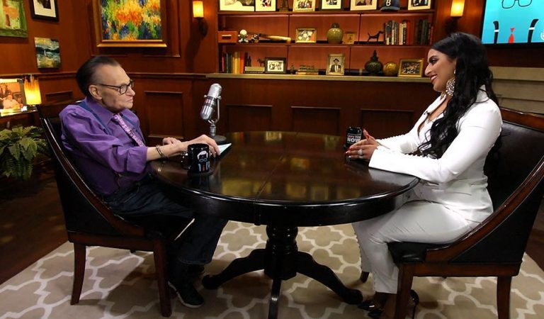 When Raja Kumari Talked 'Bloodline' With Larry King