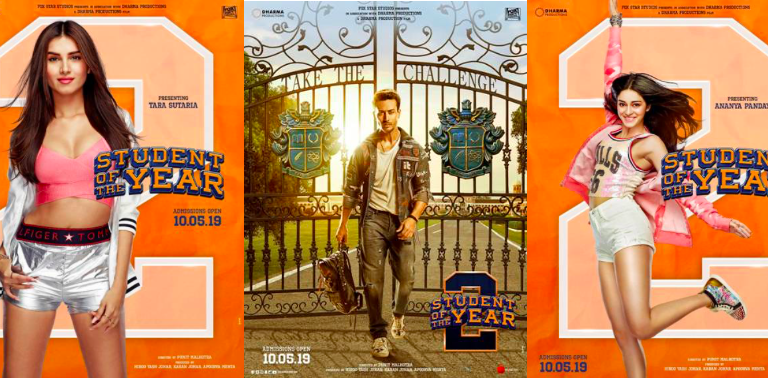 "Much Awaited ""Student Of The Year 2"" Trailer Premiers"
