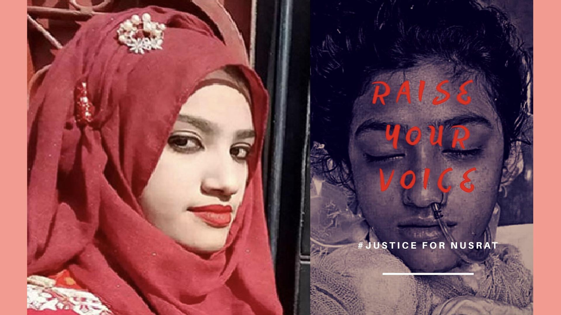 #JusticeForNusrat