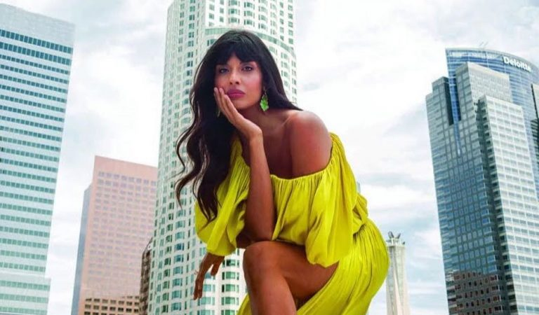 Jameela Jamil Teams Up With Harper's Bazaar For A Unique Cover Shoot