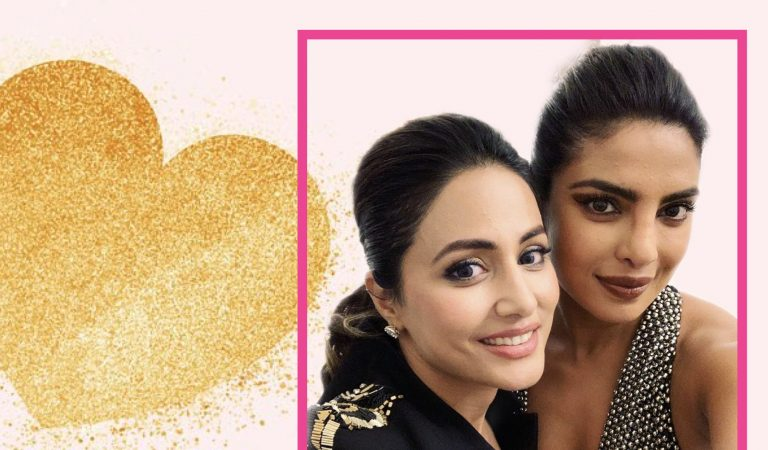 Priyanka Chopra And Hina Khan Have #GirlLove Moment At Cannes
