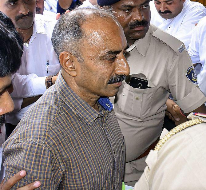 POLICE OFFICER Sanjeev Bhatt