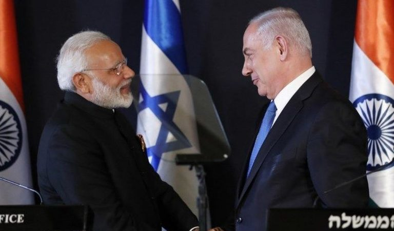 India's Shift In Stance Stands With Israel Against Palestine