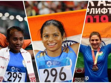 HIMA DAS, DUTEE CHAND, BHAVNA TOKEKAR - GOLDEN GIRLS