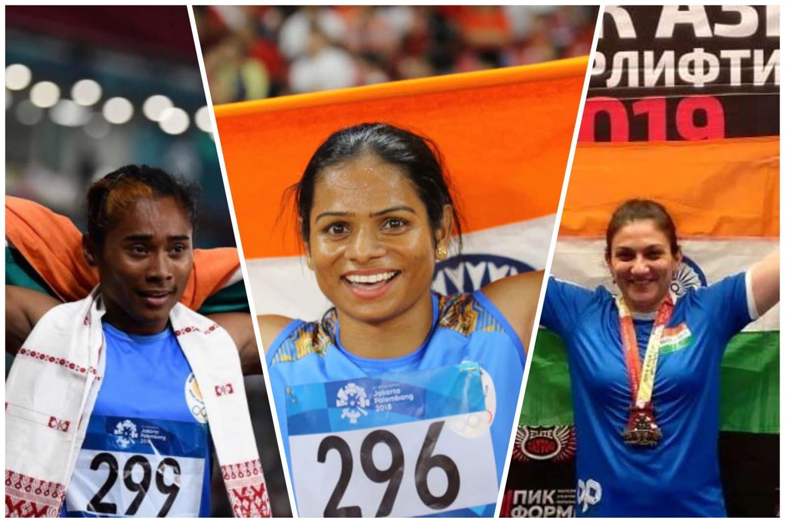 HIMA DAS, DUTEE CHAND, BHAVNA TOKEKAR - GOLDEN GIRLS