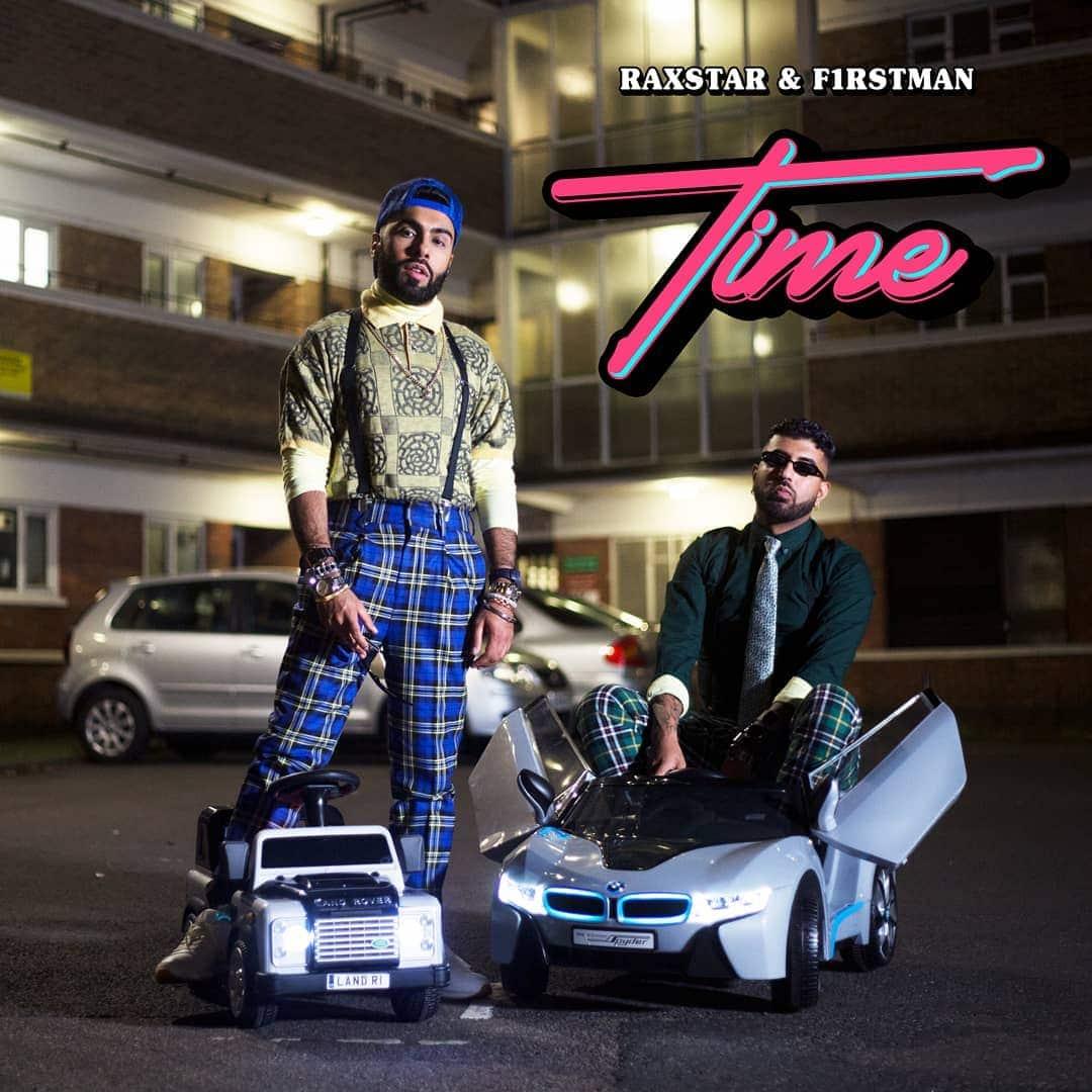 Raxstar F1rstman 'Time'